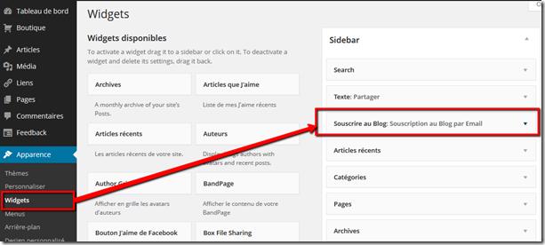 Comment créer une newsletter dans votre blog avec TinyLetter ? (3/6)