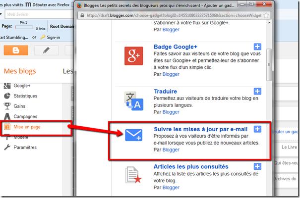 Comment créer une newsletter dans votre blog avec TinyLetter ? (2/6)
